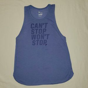 OLD NAVY ACTIVEWEAR GRAPHIC MUSCLE TANK TOP